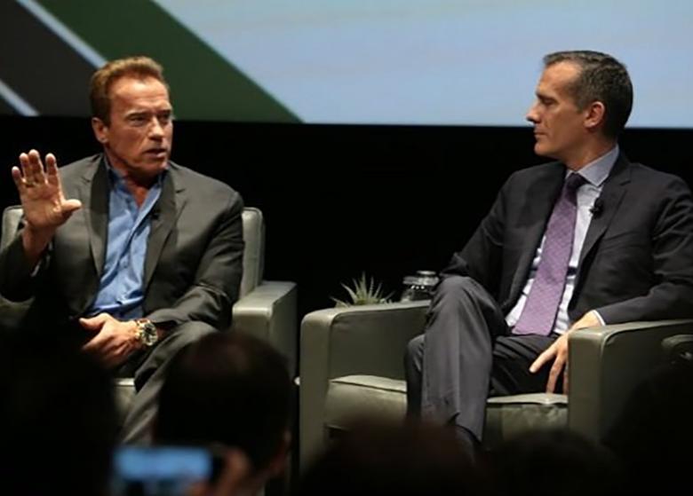 راهحل سینمایی آرنولد برای مبارزه با انکارکنندگان تغییرات اقلیمی