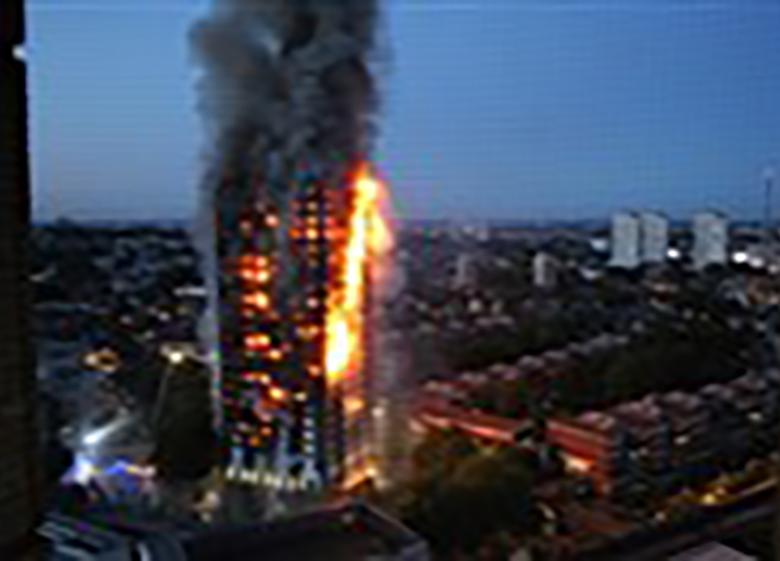 """""""مسکن اجتماعی"""" در آتش سوخت"""