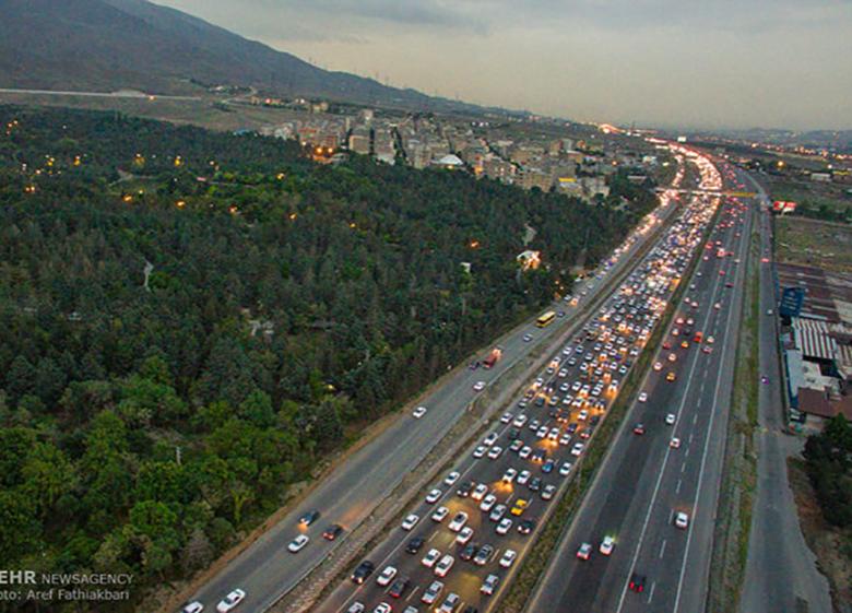 مردم قبل از سفر وضعیت راهها را چک کنند تا ترافیک نباشد