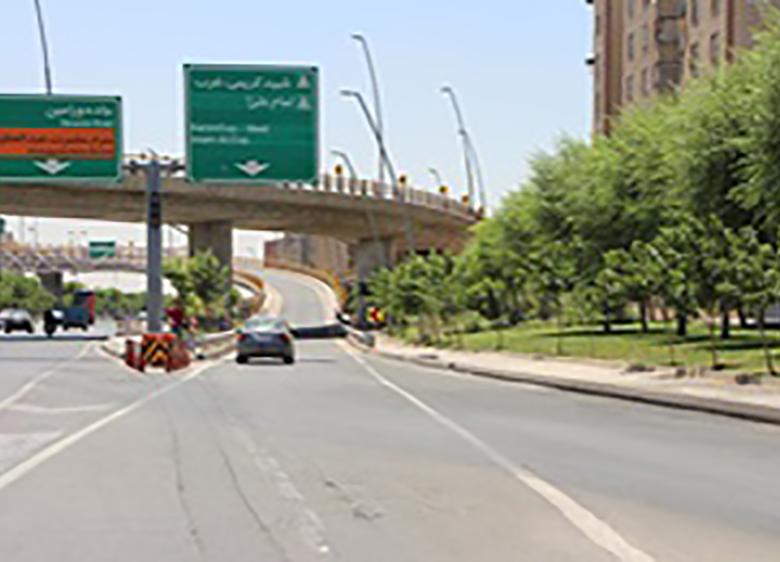 اتصال دوبزرگراه در تهران
