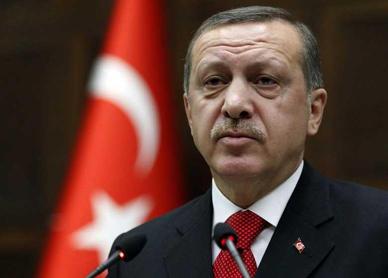 اردوغان از هوش رفت