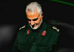 واکنش معنادار سردار قاسم سلیمانی به حادثه تروریستی تهران/ تصویر