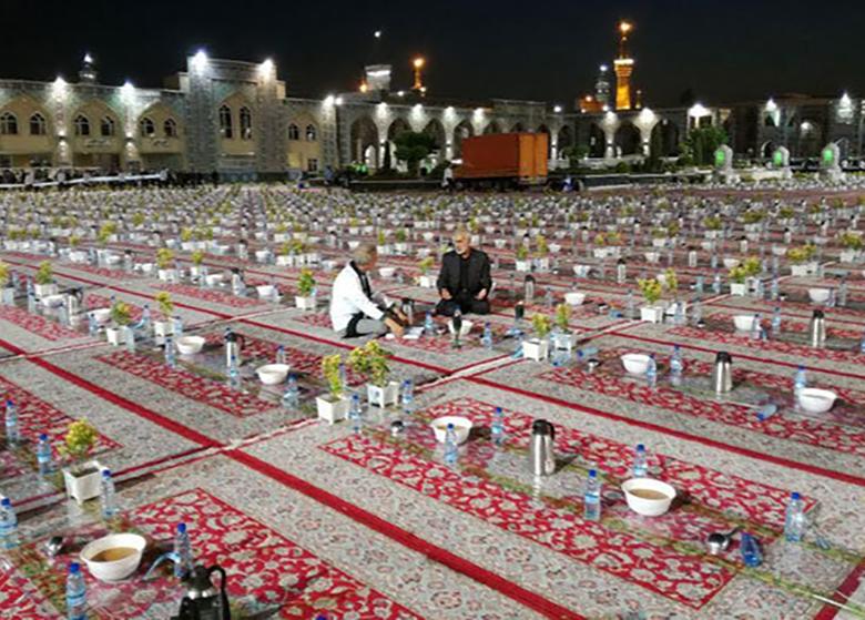 «شهر عزیز» فرصتی برای همسفره شدن با زائران حرم امام رضا(ع)