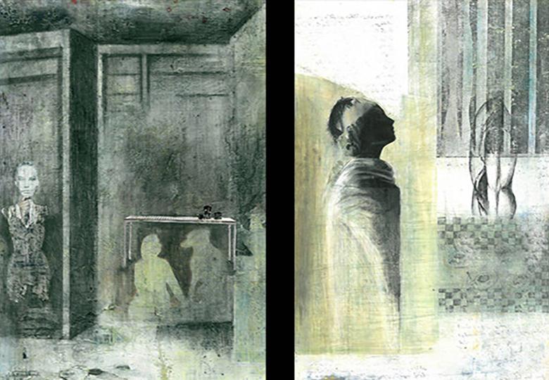 «هزارتوی» تنهایی انسانها نقاشی شد