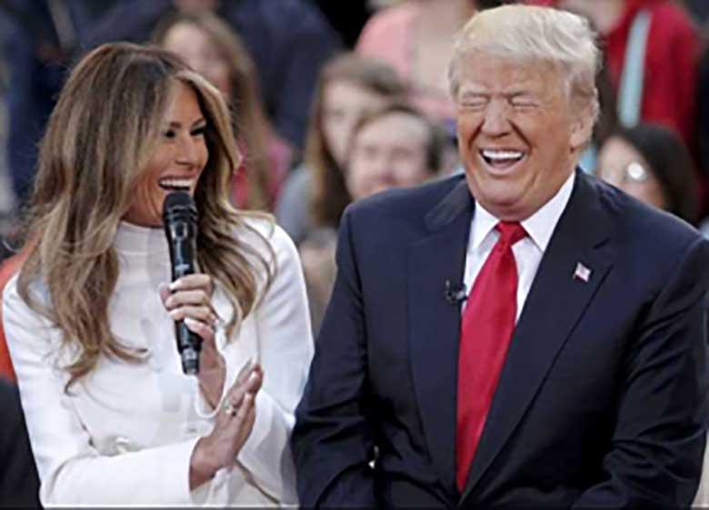 برلوسکونی: جذابترین ویژگی ترامپ، زنش ملانیاست