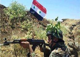 ورود ارتش سوریه به استان دیر الزور بعد از پنج سال