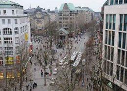 تلاش شهروندان برای دستگیری مهاجم چاقو به دست در هامبورگ