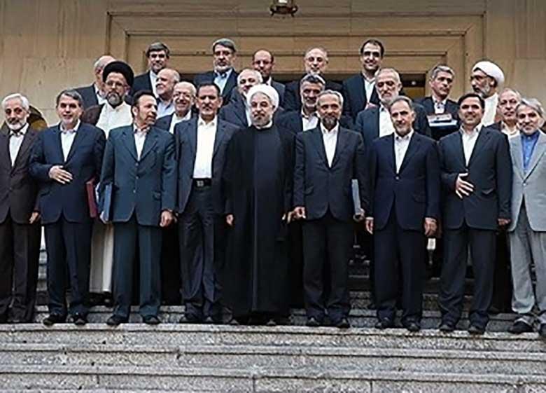 ظریف، زنگنه و قاضی زاده در آستانه جدایی از دولت؛ آیا روحانی با ژنرال های کابینه خداحافظی می کند ؟