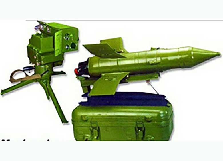 موشک رعد، برای انهدام تانکها و خودروهای زرهی