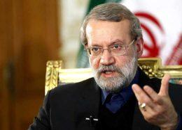 شوخی جالب و سیاسی لاریجانی با وزیر بهداشت!/فیلم