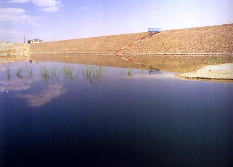 """آبگیری سد """"جامیشان"""" در شهرستان سنقر کرمانشاه"""