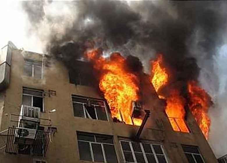۱۵ مصدوم در انفجار ناشی از نشت گاز شهری