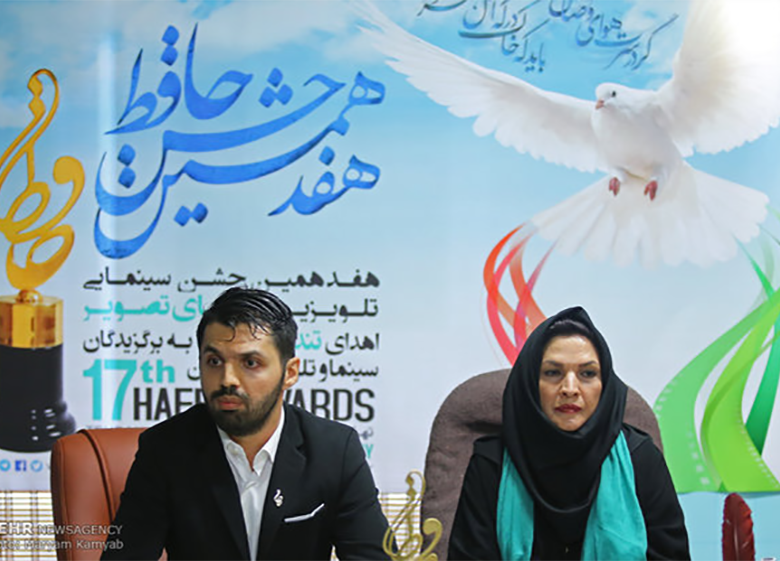 تندیس علی معلم به جشن حافظ اضافه شد