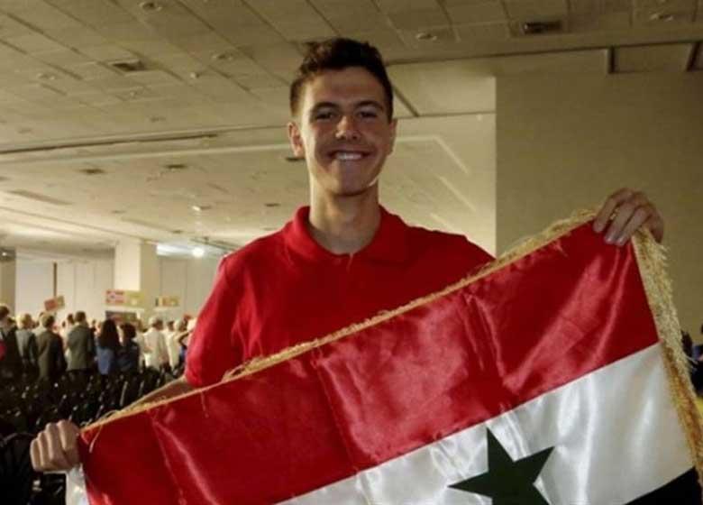 پاسخ جالب پسر ۱۵ ساله بشار اسد به نشریه برزیلی