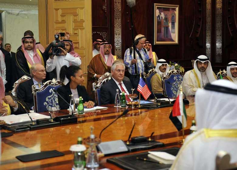 پایان مذاکرات بی نتیجه تیلرسون درباره بحران قطر در جده