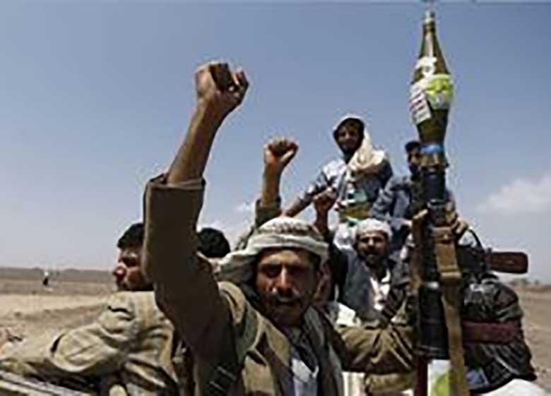 حمله توپخانه ای ارتش یمن به مزدوران سعودی