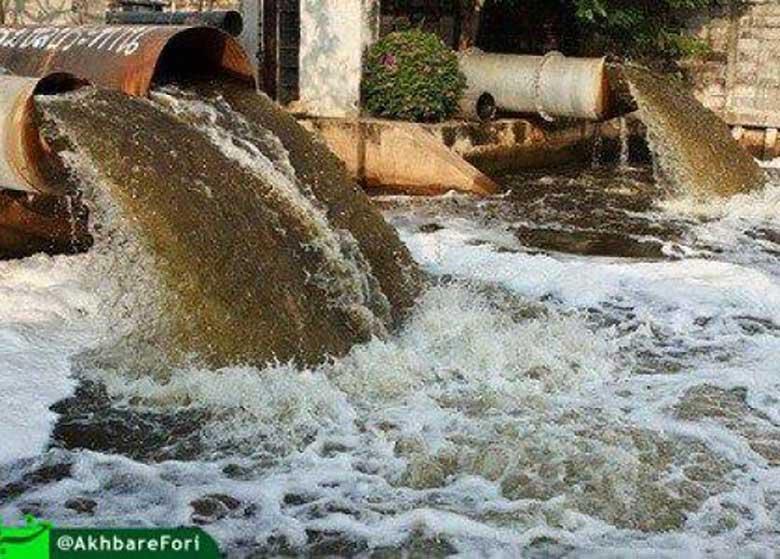 لب کارون و بویتعفن/آمازون ایران در فاضلاب غرق شد/ روزانه حدود ۶ میلیون مترمکعب پساب وارد کارون میشود