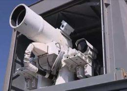اولین فیلم از عملکرد سلاح جدید لیزری آمریکا