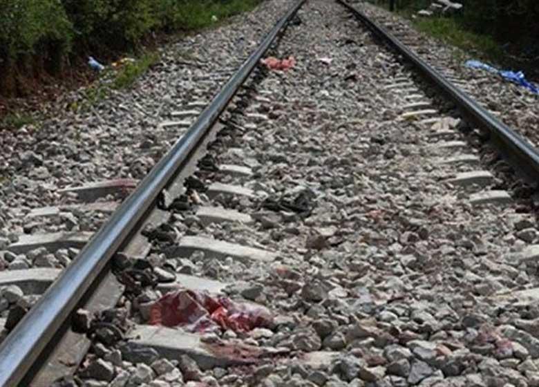 برخورد مرگبار قطار با مرد جوان زیرپل جوادیه