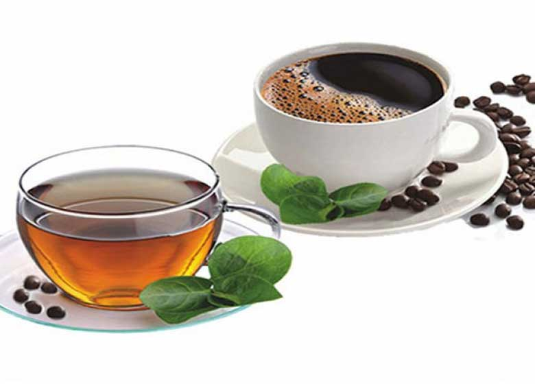 با احتیاط چای و قهوه بنوشید
