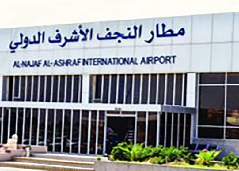 تحریم فرودگاه نجف کلید خورد