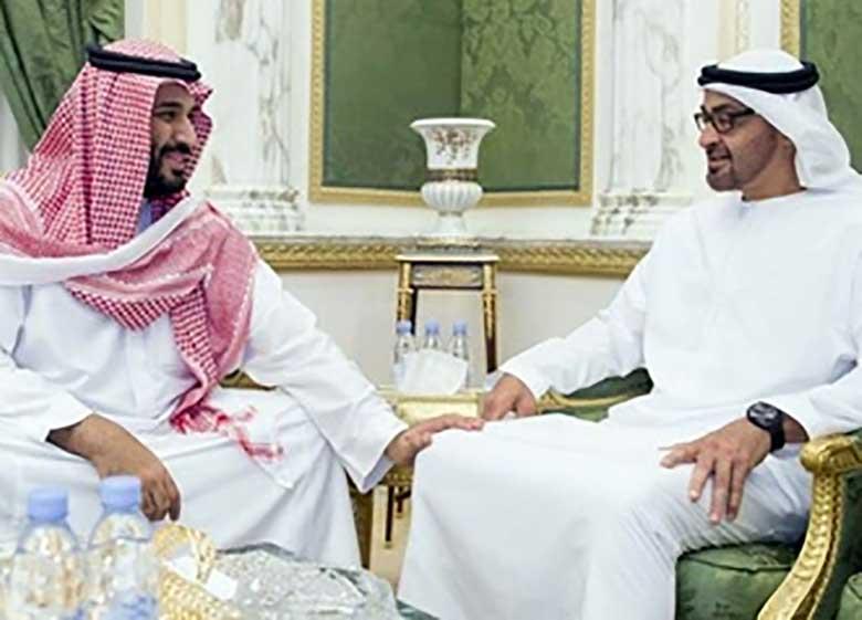قطر، سند رسوایی ولیعهدان سعودی و اماراتی را فاش کرد