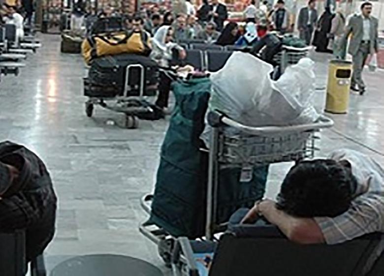 تاخیر 390 دقیقه ای پرواز شیراز به تهران هواپیمایی زاگرس