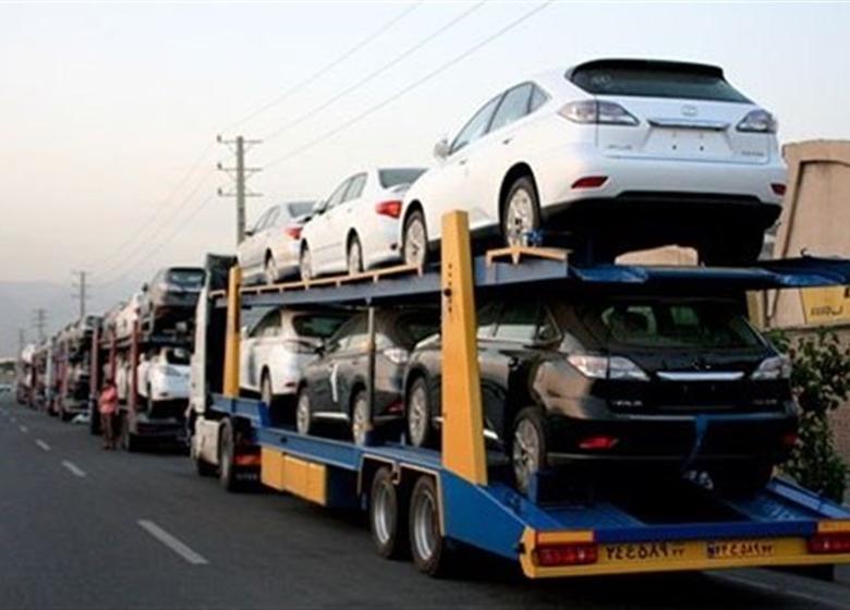 گرانی ۵ تا ۱۵ میلیونی خودروهای خارجی در بازار
