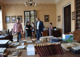 منابع ایرانشناسی از پرمخاطبترین بخشهای کتابخانه ملی گرجستان
