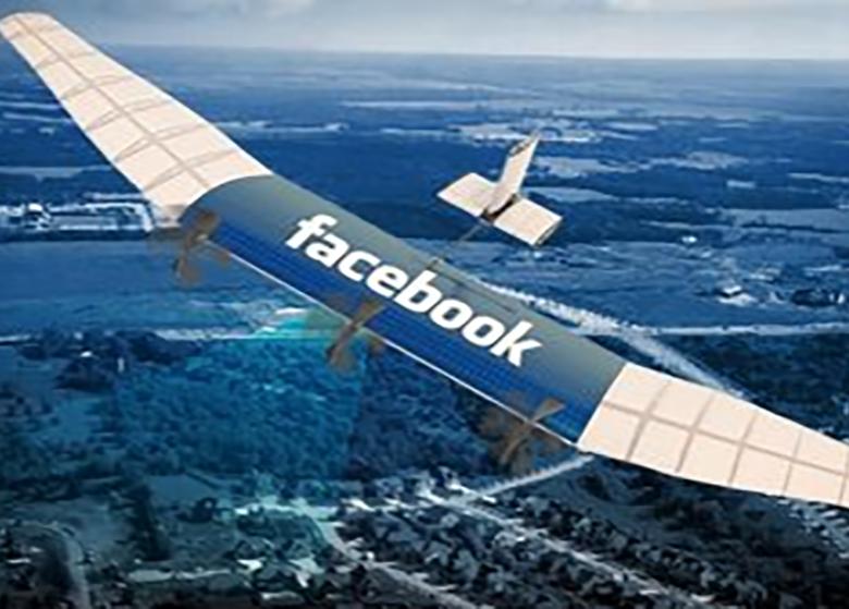 موفقیت فیس بوک در آزمایش پهباد