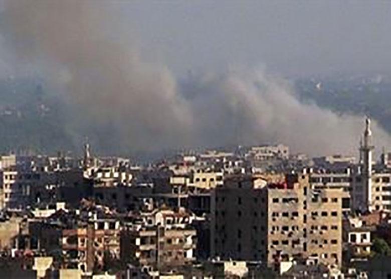 شلیک دوباره خمپاره به سفارت روسیه در دمشق