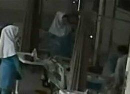 فیلم ضرب و شتم بیمار توسط کادر پزشکی در بیمارستان سینای تبریز + توضیحات مسئولان