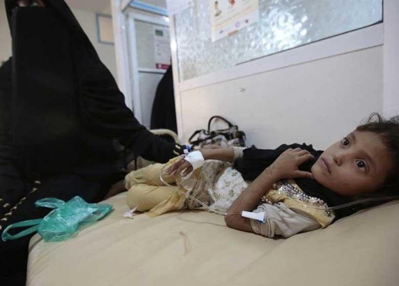 مبتلا شدن ده ها هزار یمنی دیگر به وبا