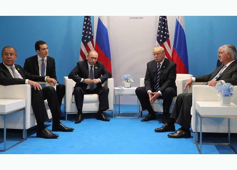 تلاش ناکام ملانیا برای بر هم زدن نشست ترامپ و پوتین!