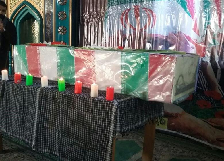 پیکرهای مطهر ۲ شهید گمنام در ساری تشییع شد