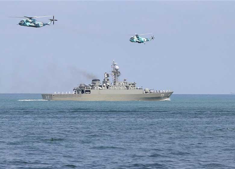 رزمایش امنیت و اقتدار پایدار ۹۶ در دریای خزر آغاز شد