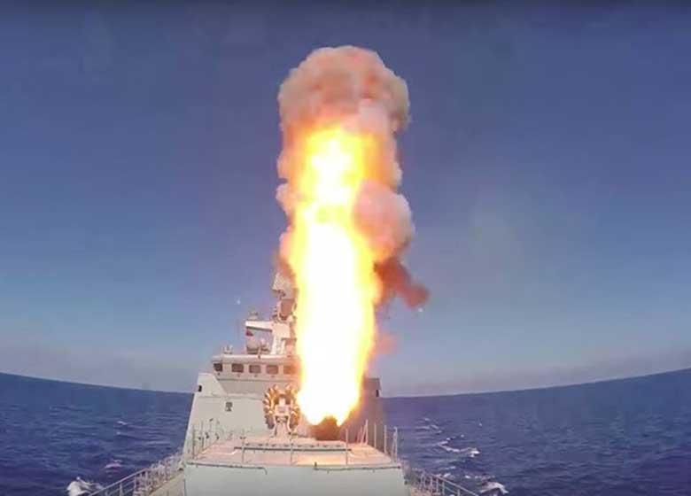 روسیه ۶ موشک کروز به داعش در سوریه شلیک کرد