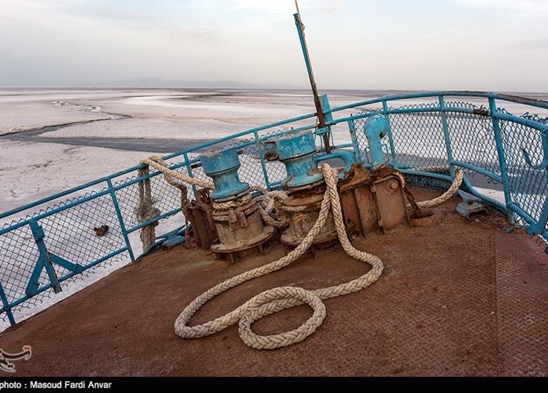 کشتی ایرانی در کانال ولگا به گل نشست