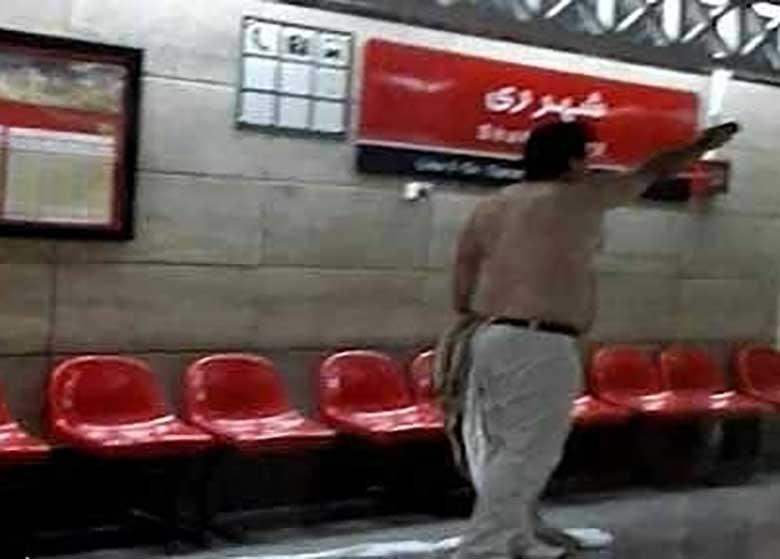 اظهارات روحانی مضروب حادثه مترو شهرری/ موضوع امر به معروف صحت ندارد
