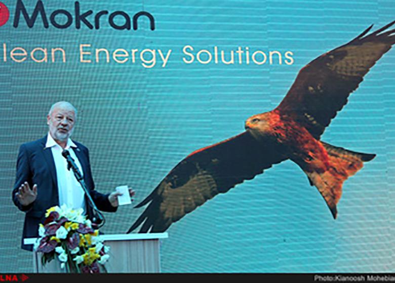 کلنگزنی بزرگترین نیروگاه خورشیدی خاورمیانه در کرمان