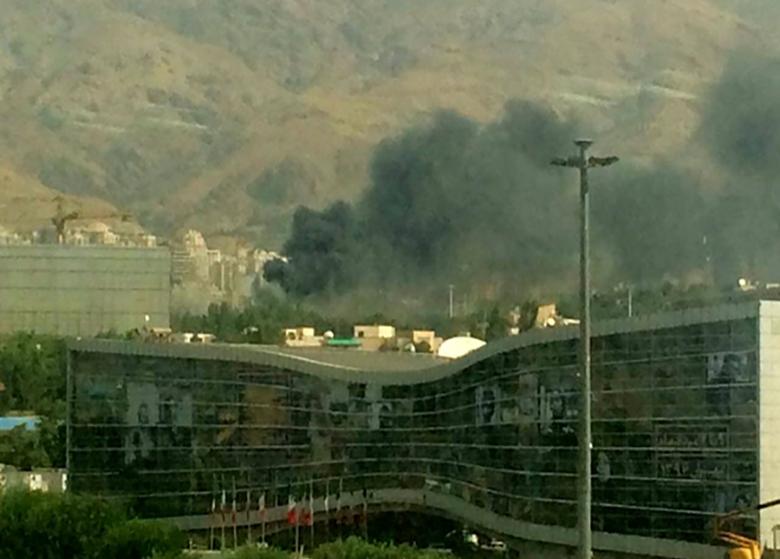 آتشسوزی در یکی از سولههای نمایشگاه بینالمللی