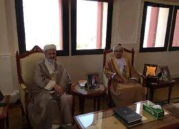 دیدار سفیر ایران در مسقط با رئیس رادیو و تلویزیون عمان