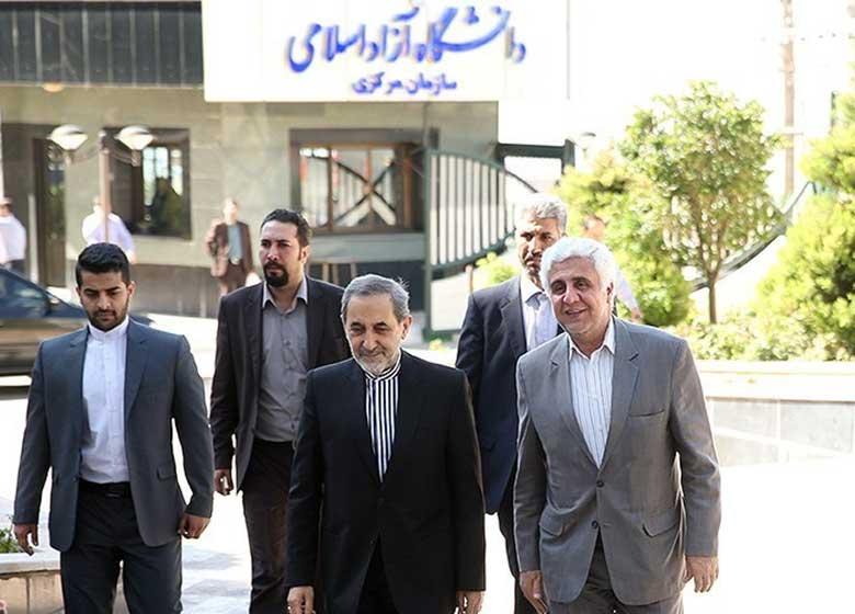 مراسم معارفه رئیس جدید دانشگاه آزاد اسلامی آغاز شد
