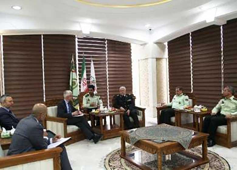 نیروی انتظامی در پیشبرد اهداف قرارگاه انتقال تجربیات دفاع مقدس نقش تایثرگذاری دارد