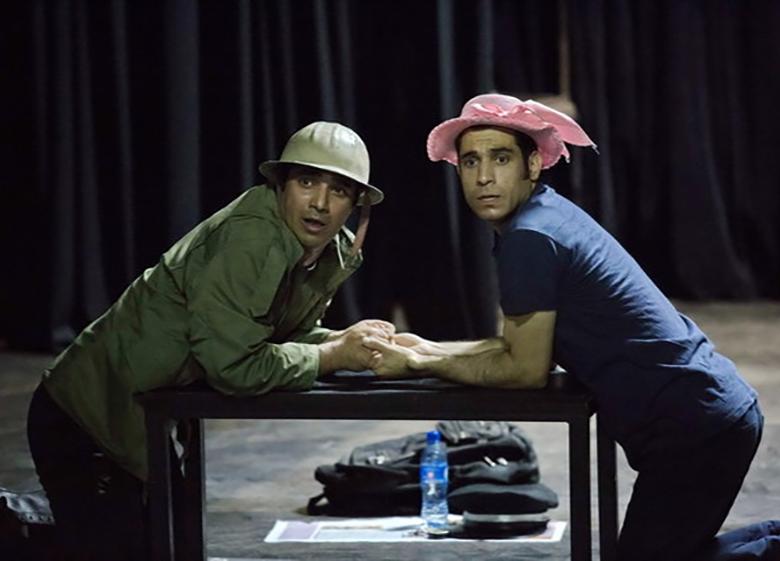 کمدی «ادوارد و ننه» در پلاتو اجرا تئاترشهر