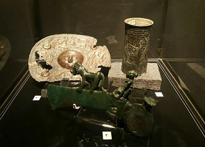 شیرهای موزه ملی در موزه هنرهای معاصر