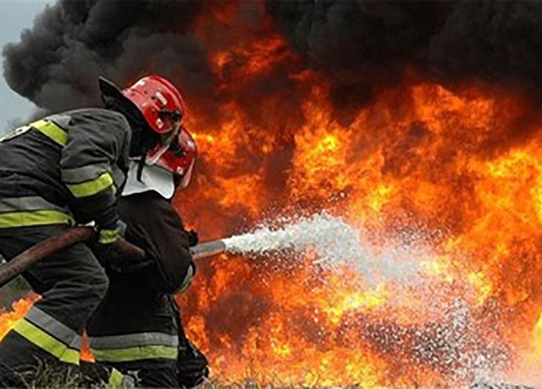 وقوع آتش سوزی گسترده در بهارستان