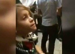 شجاعت کمنظیر دختربچه فلسطینی در مقابل چکمهپوشان اسرائیل +فیلم