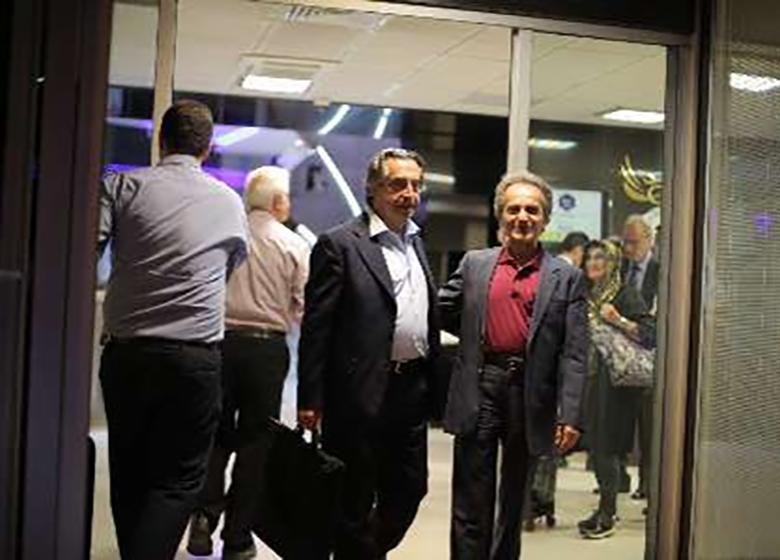 ریکاردو موتی رهبر ارکستر ایتالیایی وارد ایران شد