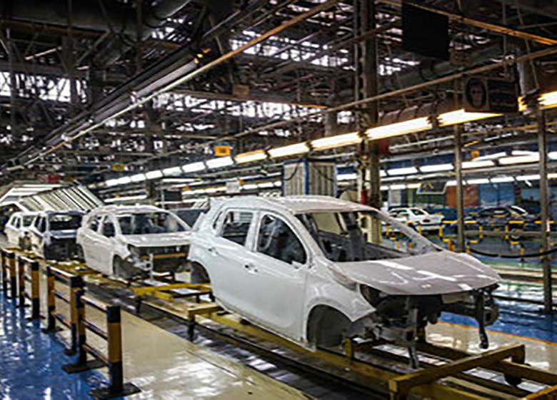 افزایش ۱۸.۹درصدی تولید خودروی سواری